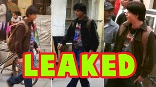 Shahrukh Khan's 'FAN' Pictures LEAKED | LehrenTV
