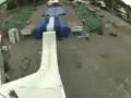 Summer Ski Jump Gone Terribly Wrong