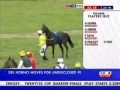 Prick Jockey Headbutts a Horse
