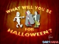 What will you be for halloween