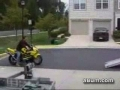 Guy Wrecks A Brand New Bike