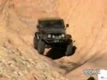 Jeep Rolls Down Mountain