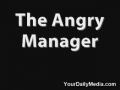 Angry Manager With A Broken Elevator