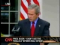 Bush and Blind Reporter