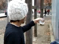 Japanese guy plays with a magic ball
