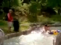 Hilarious pool prank