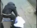 A bully gets knocked out by little kid