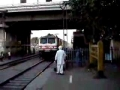 Beware - Do not cross train tracks in India