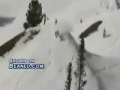 Snow Skiier comes up short breaking his ankles
