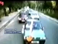 Kid nailed by speeding car