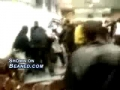 A fight gets ugly when some dudes get beat with chairs