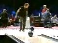 A trick bowling shot