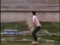 Rollerblader falls 20 feet and slams his head