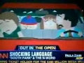 CNN reporting on South Park