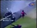 Motorcart crash REALLY hard tossing one guy