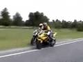 Motorcycle stunt and fall compilation