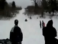 Coolest sled wipeout this year
