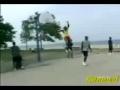 Some crazy basketball moves