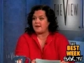 Rosie O'Donald rags on Anna Nicole Smoth hours before she di