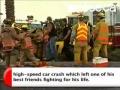 Nick Hogan Racing Accident