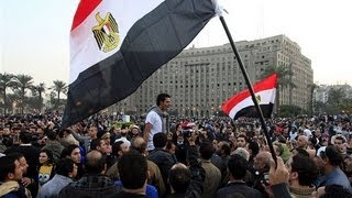Egyptian Protest Footage