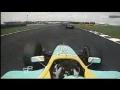 GP2 Ernesto Viso\'s crash at Magny-Cours
