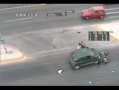 Biker Hiting Car