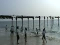 Bridge Through Beach