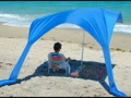 Durable Wind Resistant Beach Umbrella